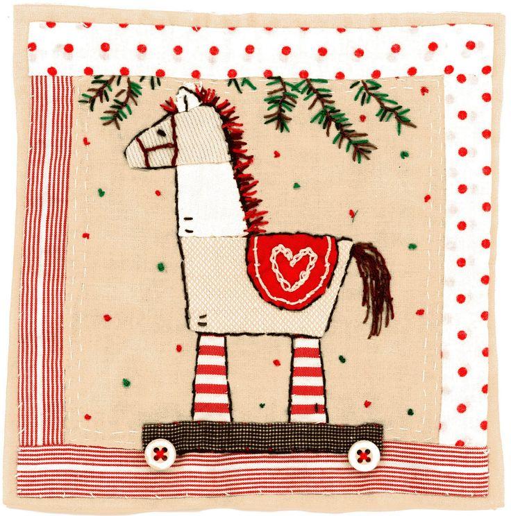 by Sharon Blackman christmas horse