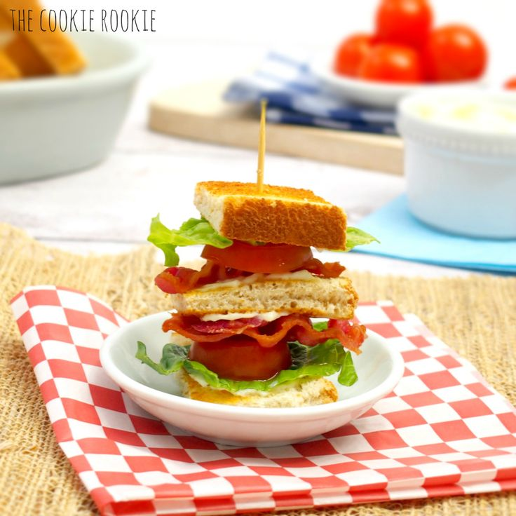 Mini BLT Sliders, I love making these for parties! Always an easy hit! - The Cookie Rookie