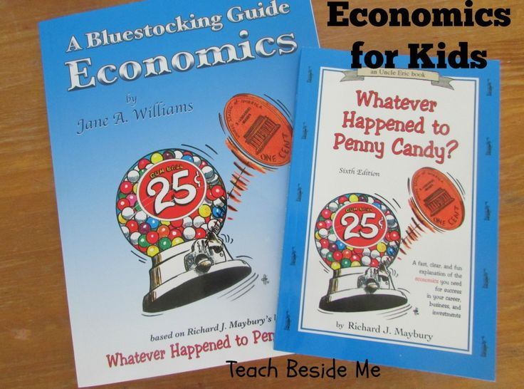 Economics for Kids, I might have to pick this one up soon because my kids are asking all sorts of questions about money