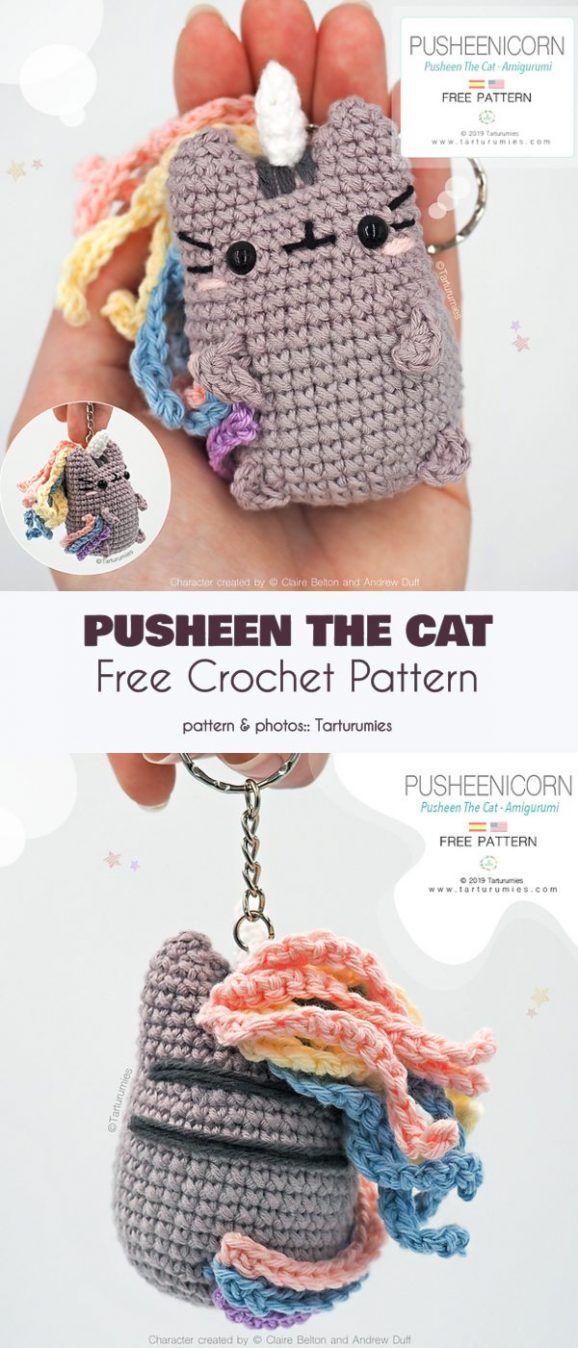 Pusheen The Cat Free Crochet Pattern