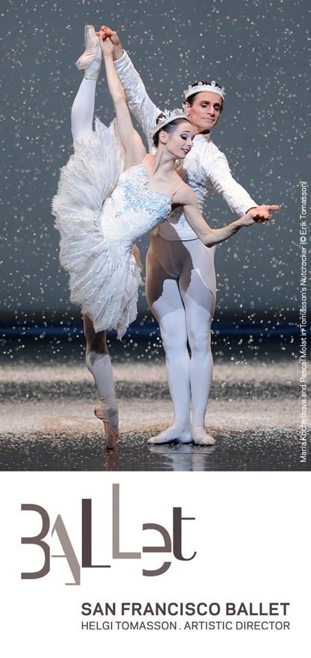 Maria Kochetkova & ?; San Francisco Ballet how can she be so little and look so tall??Seen it..:)