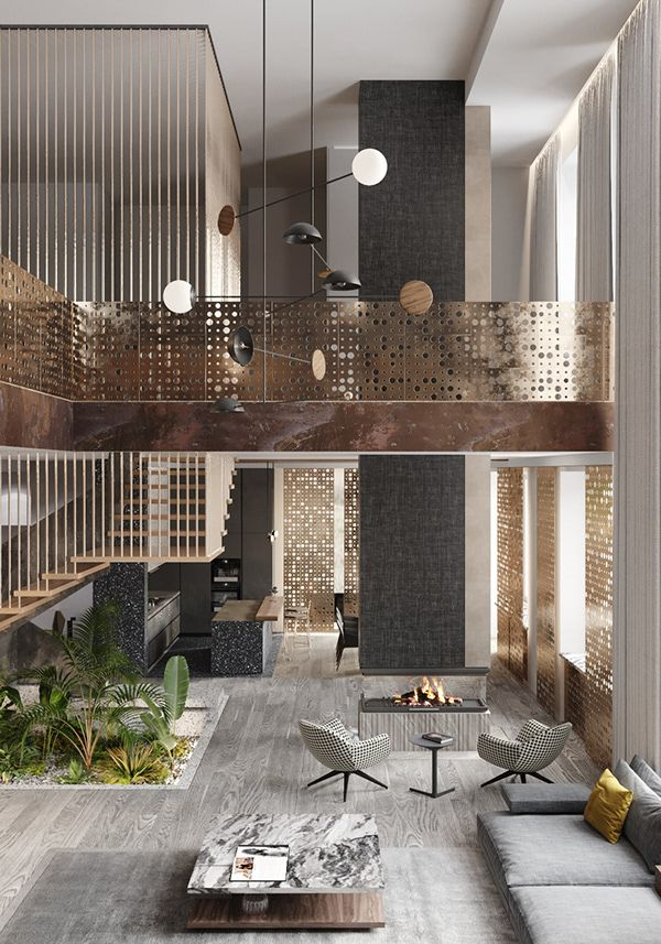 The Punch Card House In 2020 With Images Lobby Interior Design