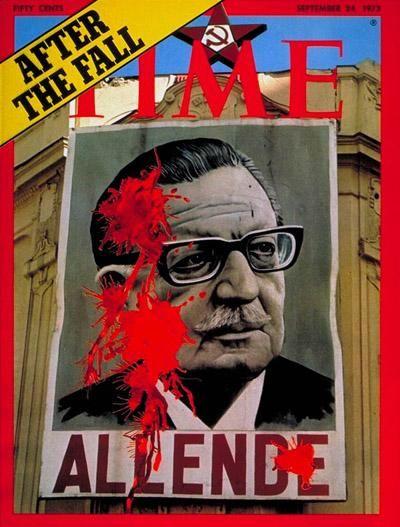 #Allende en la portada de la revista @TIME el 24 de septiembre de 1973. #42AñosGolpe