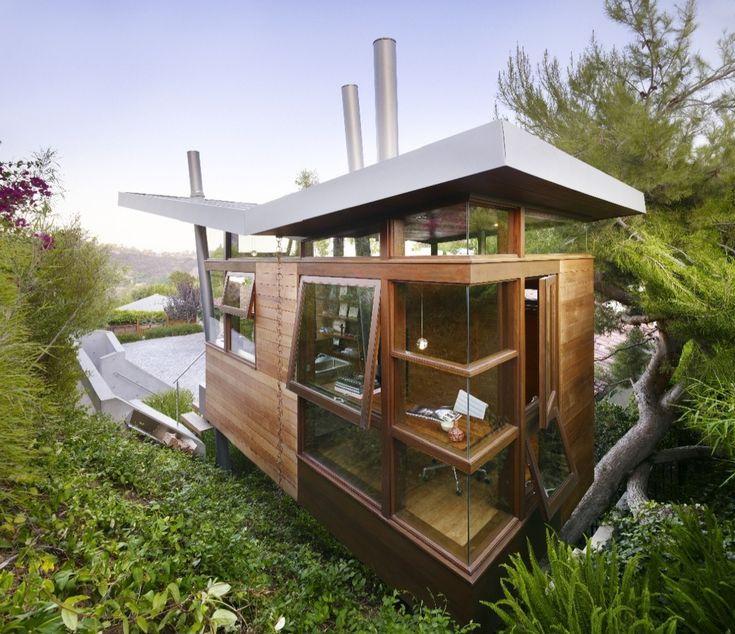 Banyan Treehouse-art studio and sanctuary. RPA Architects