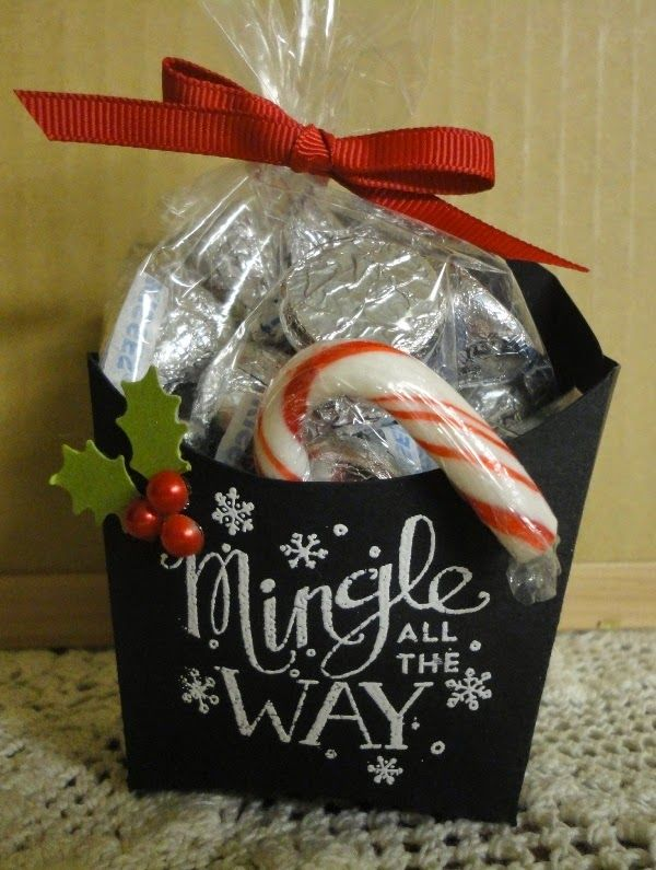 Chalkboard Fry Box and Gift Card Holder Stampin' Up!
