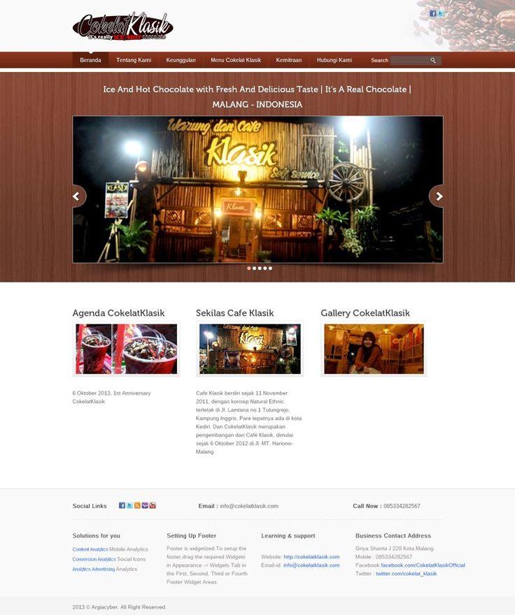 web franchise Cokelat Klasik. cokelatklasik.com
