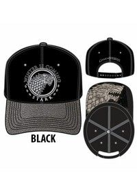 Game of Thrones Stark Siver Lurex Bill Hat