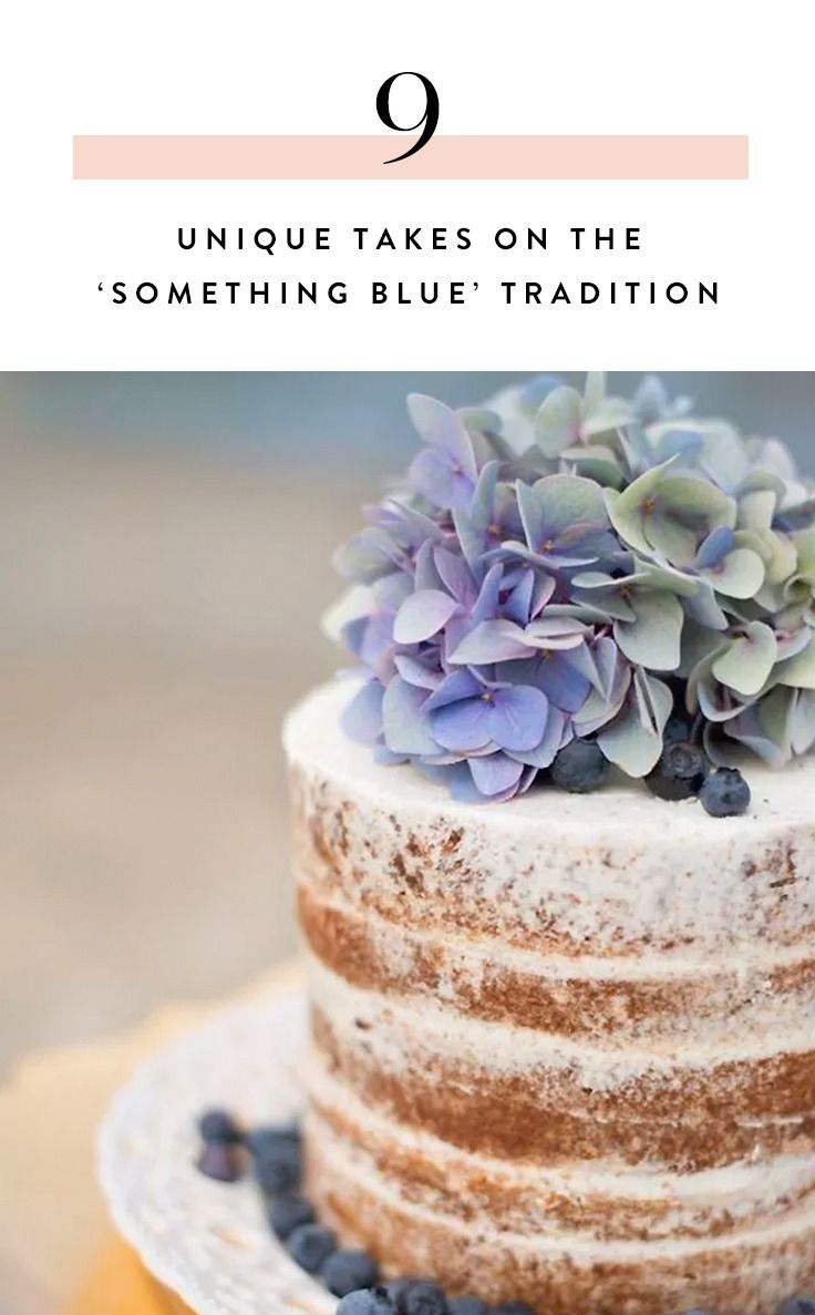 We've rounded up 9 supremely lovely ways to tweak the 'Something Blue' tradition for the 21st century.