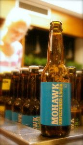 Mohawk Brewings Unfiltered Lager.