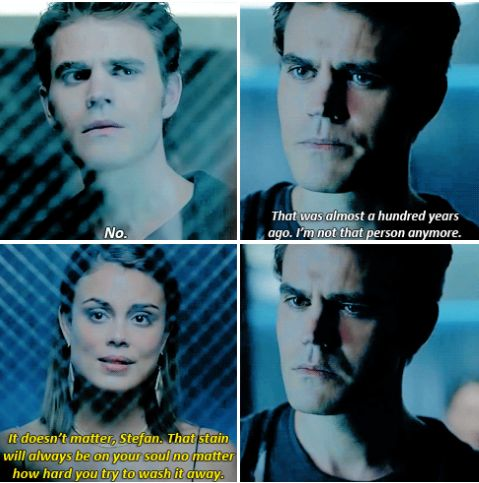 Tvd 8x04 - Did you really think all you pathetic attempts at torment would save you from the fate that deep down you know you deserve? A fate befitting the glorious ripper of Monterey?