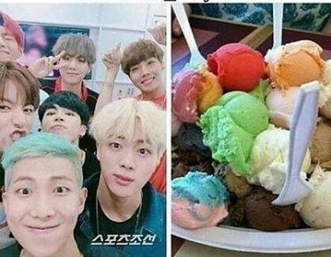 Làm gìcó loại kem bảy màu nào nhìn