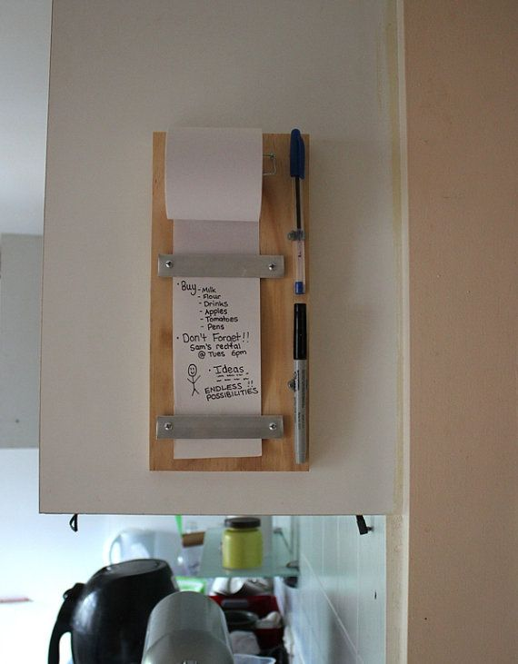 TIMBER Note Pad ROLL For Shopping List To Do List by PrinterTimber