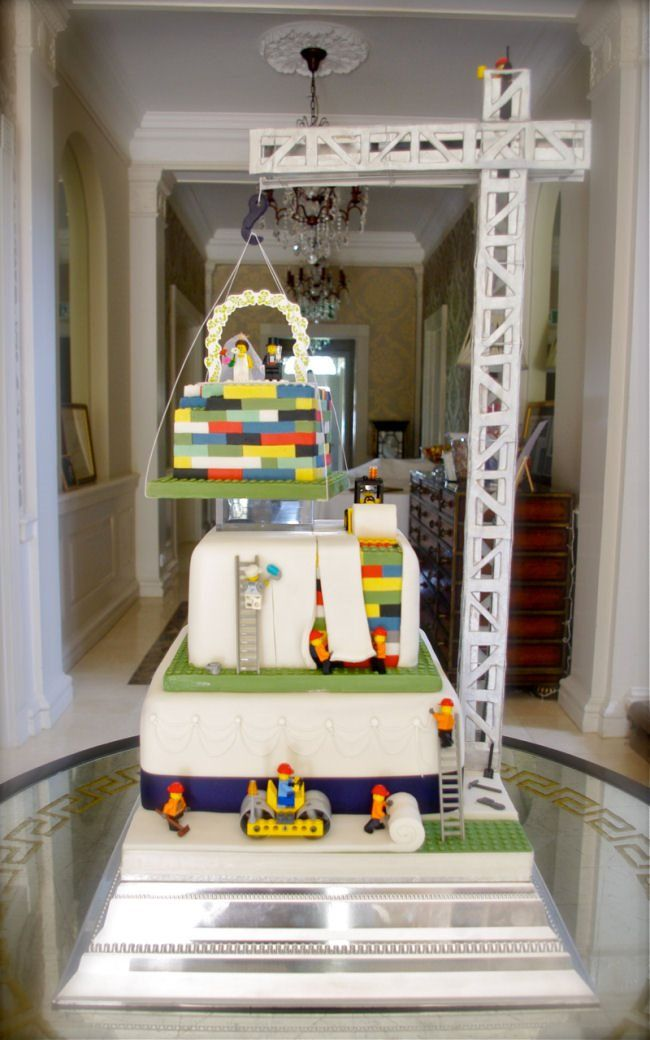 Lego Wedding Cake by Mr Cake: