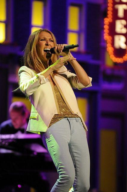 Seen Celine Dion in concert