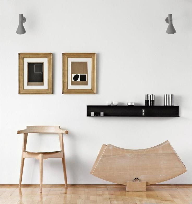 ALLOY SHELF IN BLACK. DESIGN: ERNST & JENSEN, DENMARK FOR ARTEFACT COPENHAGEN.