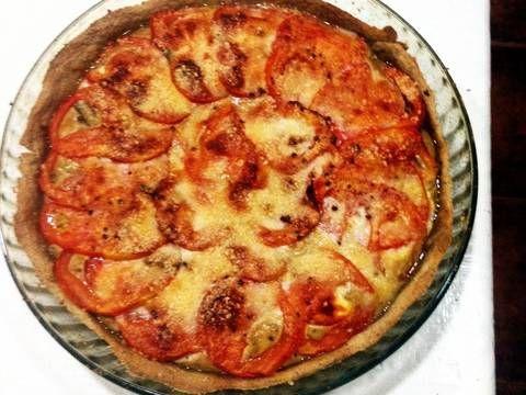 Tarta de champiñones y tomates Receta de hedus - Cookpad