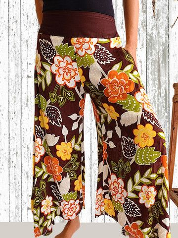 The Florence Pant Hippy Chick Choc