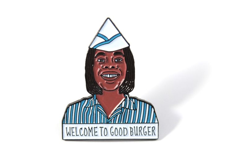 Good Burger Ed Enamel Pin by Heartificial on Etsy https://www.etsy.com/listing/399542055/good-burger-ed-enamel-pin