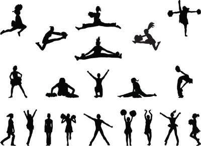 Die besten 25+ Cheerleading moves Ideen auf Pinterest