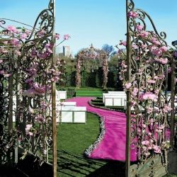 Way too many options for style to grace your aisle. From outdoor wonderlands to ballrooms (via colin cowie)