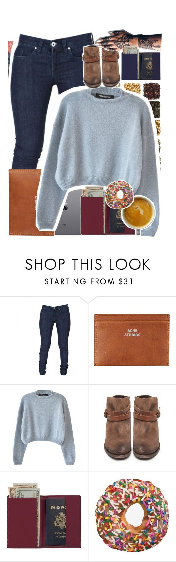 """""""Dammit Michael pay attention"""" by biteesizedd ❤ liked on Polyvore featuring Acne Studios, Ter Et Bantine, H by Hudson, Royce Leather, women's clothing, women, female, woman, misses and juniors"""