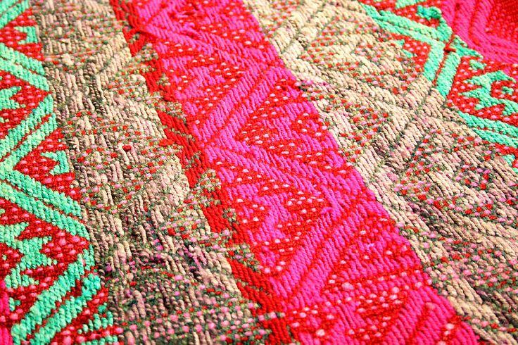 Tradición textil mapuche. Museo Regional de La Araucanía, Temuco, Chile
