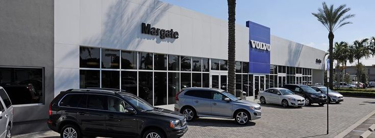 Our Margate Volvo dealership in sunny Florida!