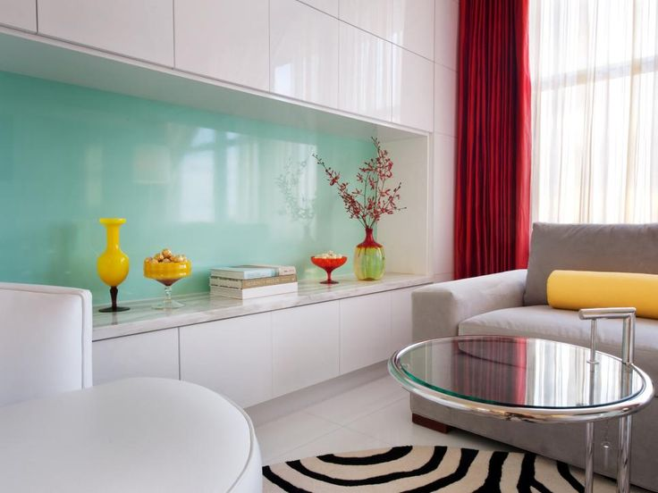 Decorating With This Color Gives A Stable Base To Deep Red, Bright Yellow  And Aqua.