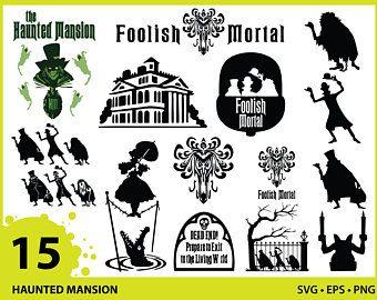 Disney svg haunted mansion Etsy in 2020 Haunted