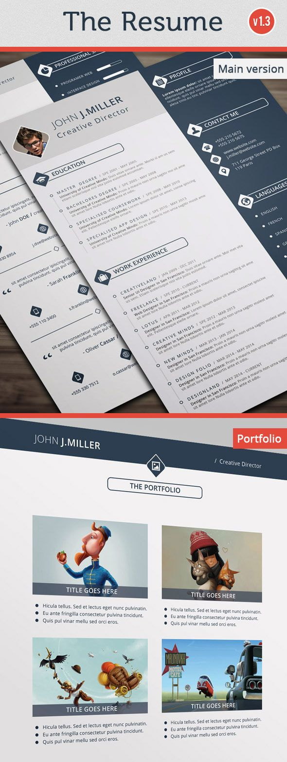 1295 Best Graphic Design Images On Pinterest Resume Design