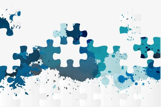 Jigsaw Background Layout Element Puzzle Png And Vector With