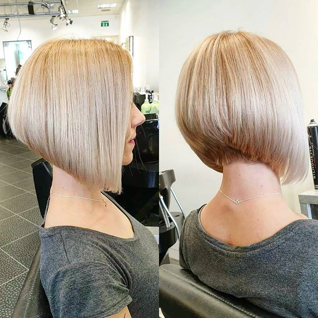 77 Bob Frisuren Stufig Hinterkopf In 2020 Bob Hairstyles Bobs Haircuts Hair Styles