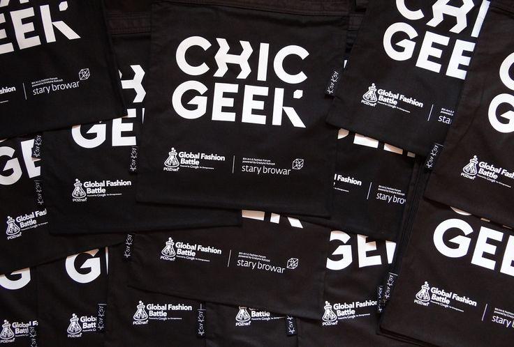 chic geek bags! #chicgeek #ecobags #ksyksy #startupweekend #fashion #starybrowar