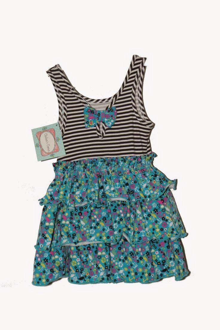 Lindo vestido infantil Importado da marca Chelsea Corner Tamanho 12 meses a pronta entrega. R$45