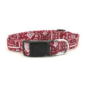 Un #collier rouge au style #bandana pour son #chien ? Pourquoi pas ? Ce collier bandana rouge pour chien est charmant et saura donner du style aux promenades ! C'est un motif qui se décline en laisse, collier et harnais. Tous ces accessoires sont à découvrir sur My-Animalerie.com ! #animalerie #animaux #collier #chien #chiot