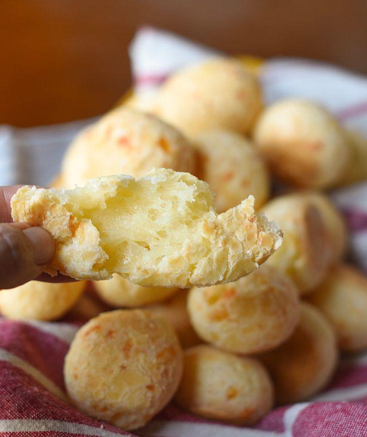 Our Brazilian Cheese Bread Pao de Queijo Recipe on POPSUGAR Latina!!