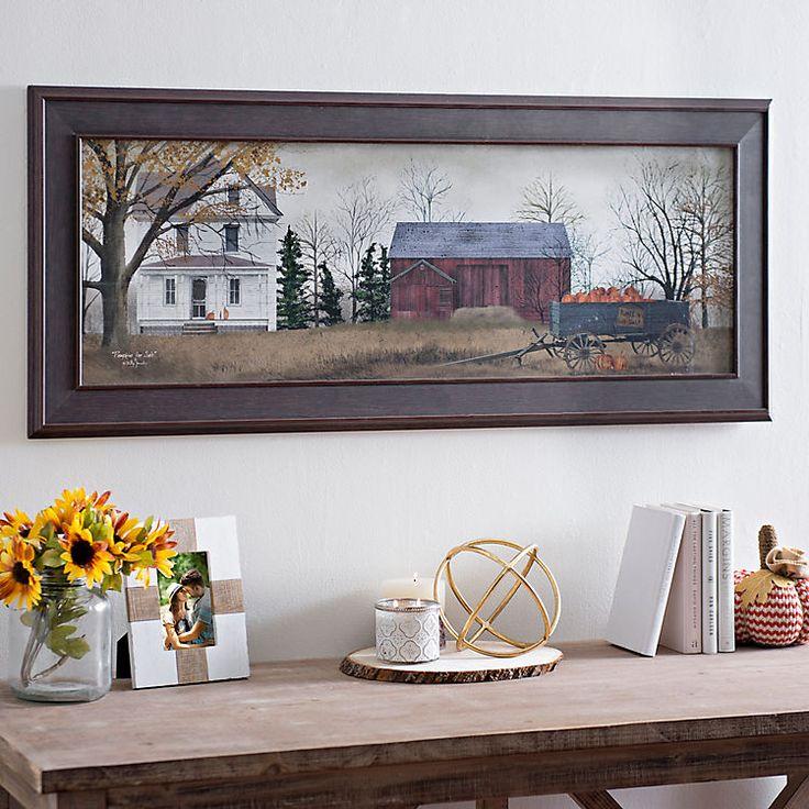 Harvest Pumpkins for Sale Framed Art Print | Kirklands