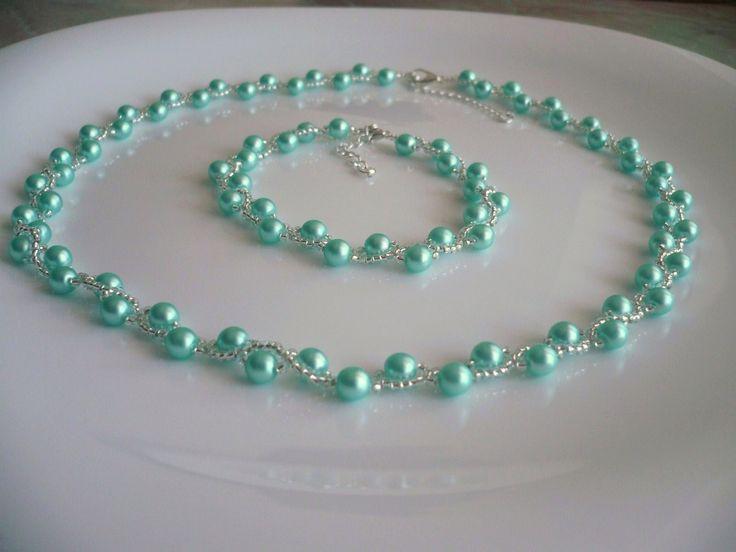Handmade necklace/Handmade náhrdelník ...HANA... www.anabelhandmade.sk