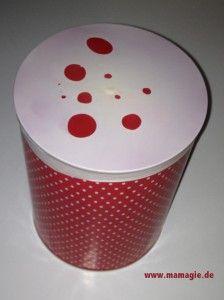 einfache Trommel aus Dose / Easy Tin-Can-Drum