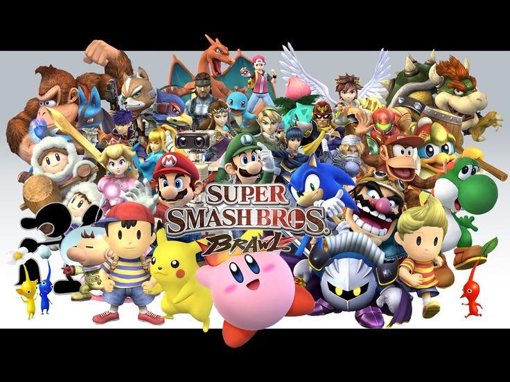 Super Smash Bros. Brawl Wallpaper (1024 x 768 Pixels)