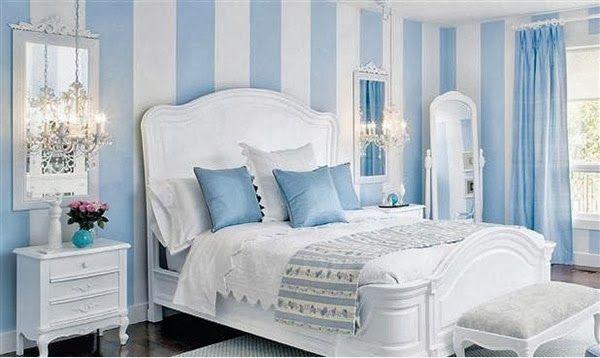 Chambres éblouissantes avec des murs rayés ~ Décor de Maison / Décoration Chambre                                                                                                                                                      Plus