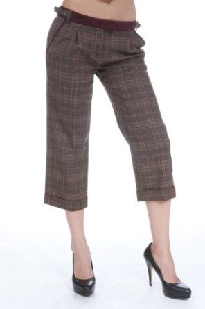 BX2 D WOMEN PANTS BROWN/BURGUNDY V96143V21231 Sz 28,30,42 null. $79.95