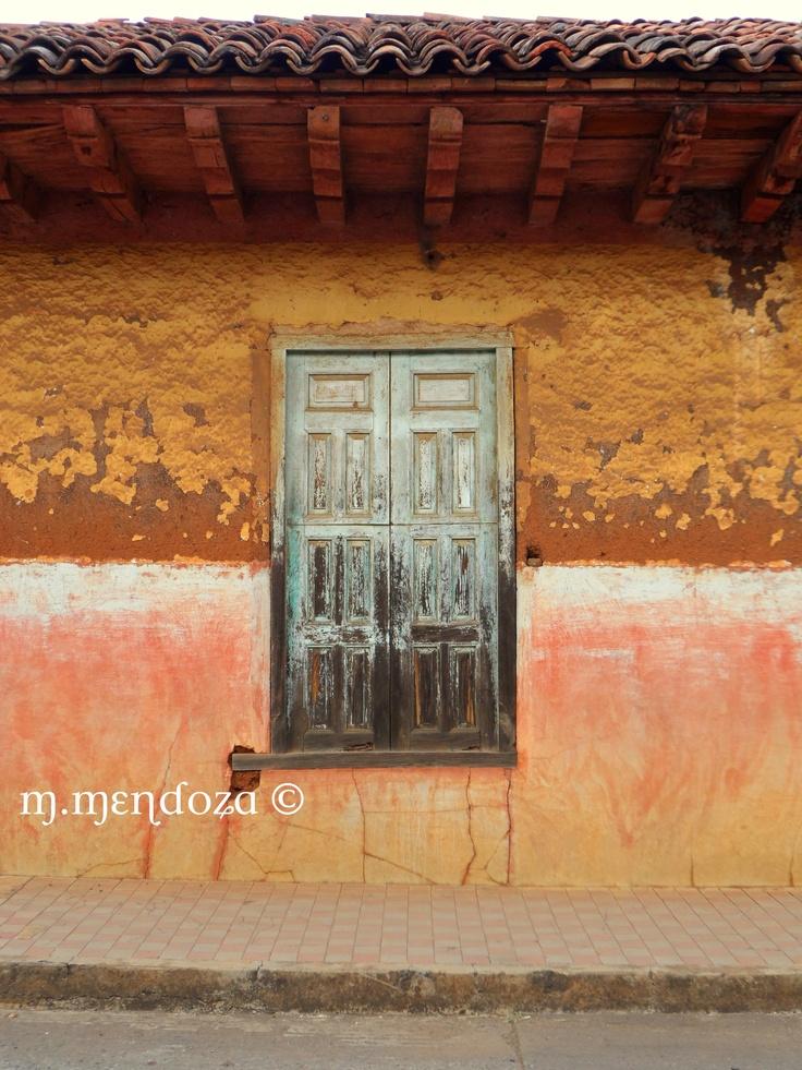 Old Weathered Adobe House Amp Wooden Window Santa Ines