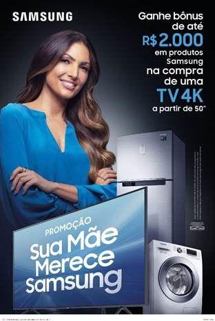 d96395e2d Samsung lança campanha de Dias das Mães com Patrícia Poeta | novidades dos  negócios e tecnologia