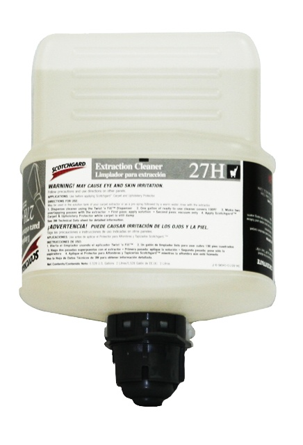 3M Twist'n Fill Extraction Cleaner 27H: Extraction cleaner 27H for 3M Twist'n Fill dilution system