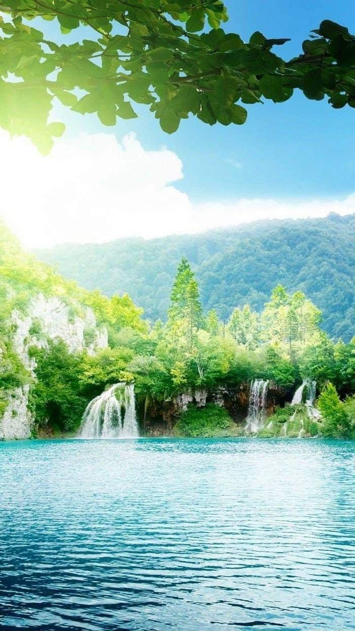 Pin By Pearl Aranda On Waterfalls Iphone 6 Plus Wallpaper Nature Iphone Wallpaper Beautiful Wallpaper Hd