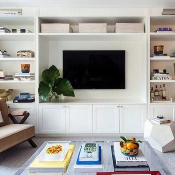 Best 25 Built In Media Center Ideas On Pinterest