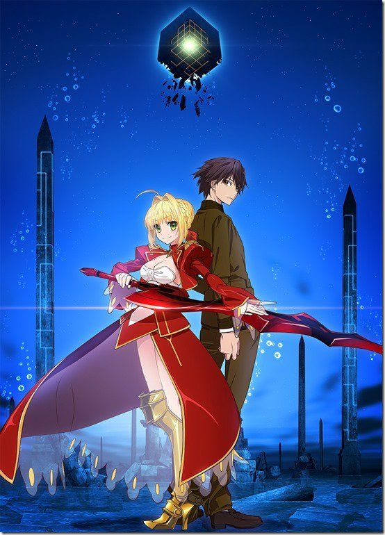 Fate/Extra: Last Encore Gets New Key Visual And Screenshots For Upcoming Anime