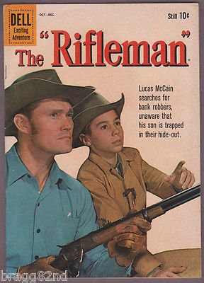 1960 Dell THE RIFLEMAN #5 comic book CHUCK CONNORS Western