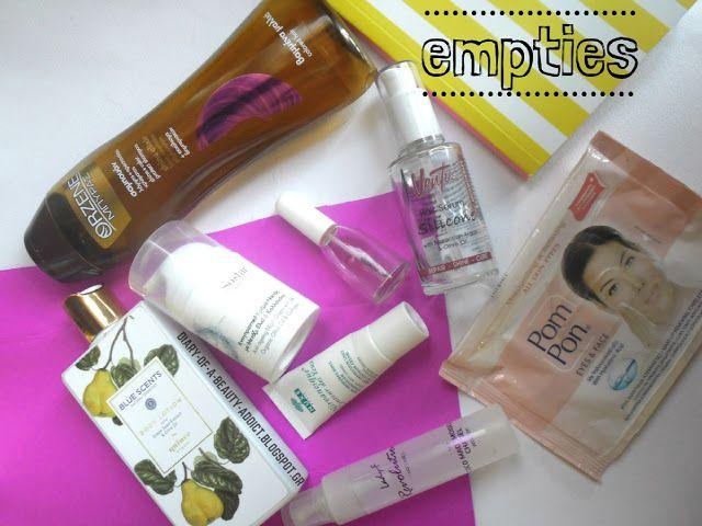 #empties Οι εντυπώσεις από 38 άδειες συσκευασίες  by Eleftheria Siatira